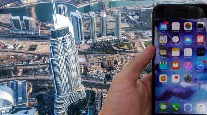 Imagem de: Aniquilado: iPhone 7 Plus é jogado do topo do edifício mais alto do mundo