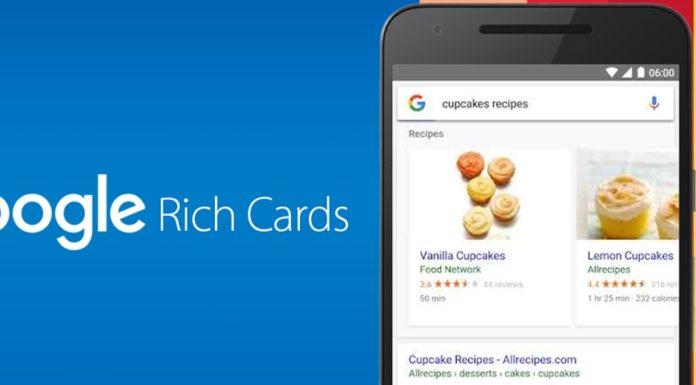 Imagem de: Rich Cards do Google já estão disponíveis para todos os idiomas