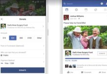 Imagem de: Facebook vê, Facebook copia: rede social agora tem botão para doações