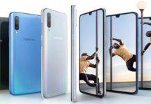 Imagem de: Galaxy A90 com 5G é confirmado em lista e deve ser anunciado em breve