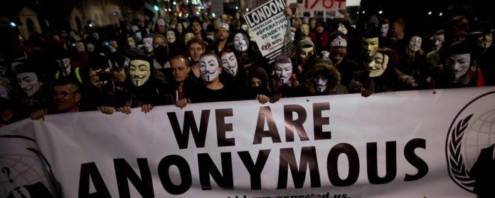 Imagem de: Anonymous faz chamado para 'Marcha Milhões de Máscaras' no domingo (5)