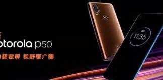 Imagem de: Motorola P50 é anunciado e confirmado como a versão chinesa do One Vision