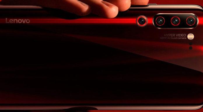 Imagem de: Lenovo Z6 aparece em 2 cores em teaser divulgado pela fabricante