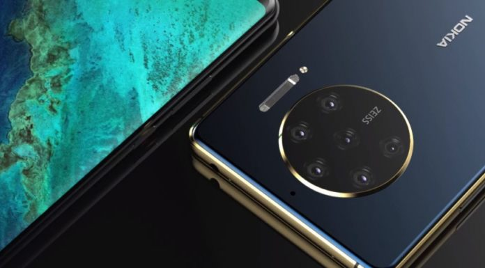 Imagem de: Conceito propõe Nokia 10 PureView com 8 câmeras e tela de 90 Hz
