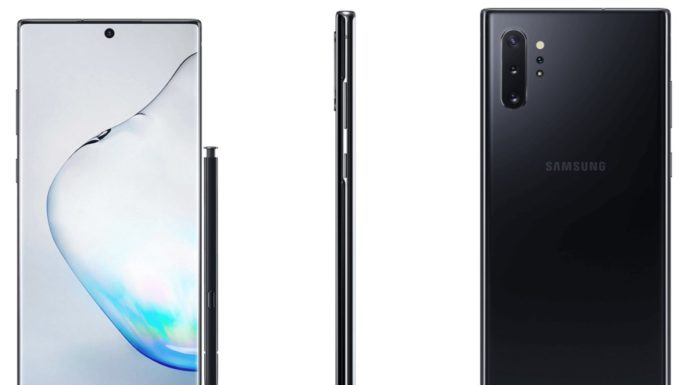 Imagem de: Galaxy Note 10+ aparece em possível render oficial