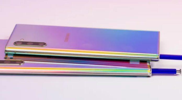 Imagem de: Galaxy Note 10 comercializado no Brasil usará processador Exynos 9825