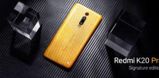 Imagem de: Xiaomi lança Redmi K20 Pro de ouro por US$ 7 mil na Índia