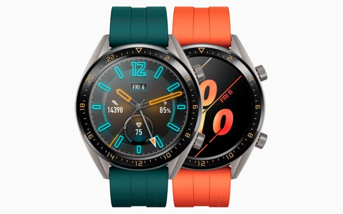 Imagem de: Com bateria de longa duração, Huawei Watch GT Active chega ao Brasil