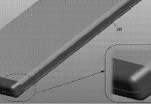 Imagem de: Lenovo registra nova patente de smartphone dobrável