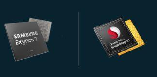 Imagem de: Por que celulares Samsung usam chips Exynos ou Snapdragon em certos países?