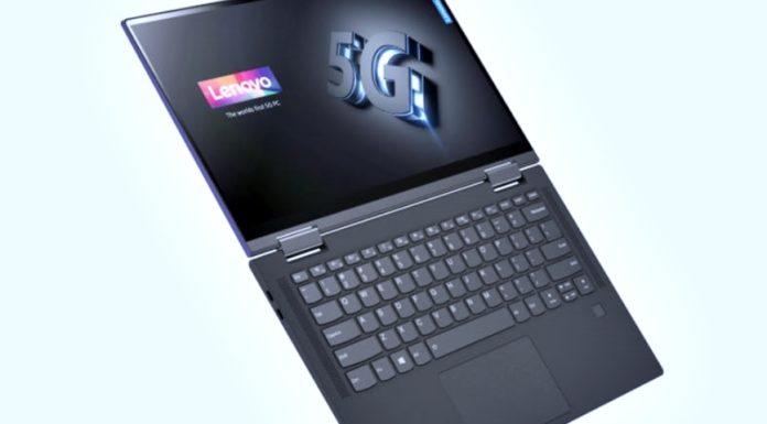 Imagem de: Qualcomm e Lenovo anunciam 1º laptop 5G com arquitetura 7 nm