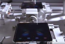 Imagem de: Samsung mostra dobra do Galaxy Fold em ação [vídeo]