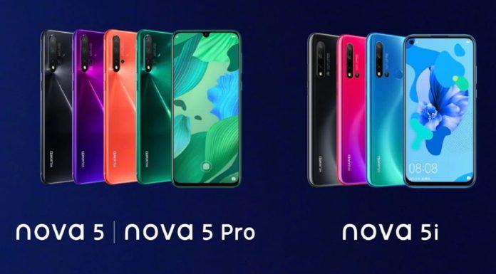 Imagem de: Huawei nova 5 Pro chega amanhã (28) ao mercado chinês