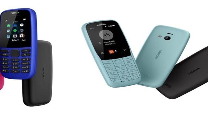 Imagem de: Novos Nokia 220 4G e Nokia 105 têm bateria que dura até 27 dias
