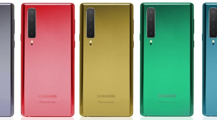 Imagem de: Rumor: Galaxy Note 10 terá câmeras traseiras 'polêmicas' na vertical