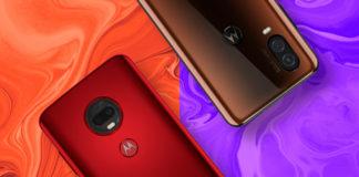 Imagem de: Moto G7 Plus vs. Motorola One Vision: qual é melhor? – Comparativo