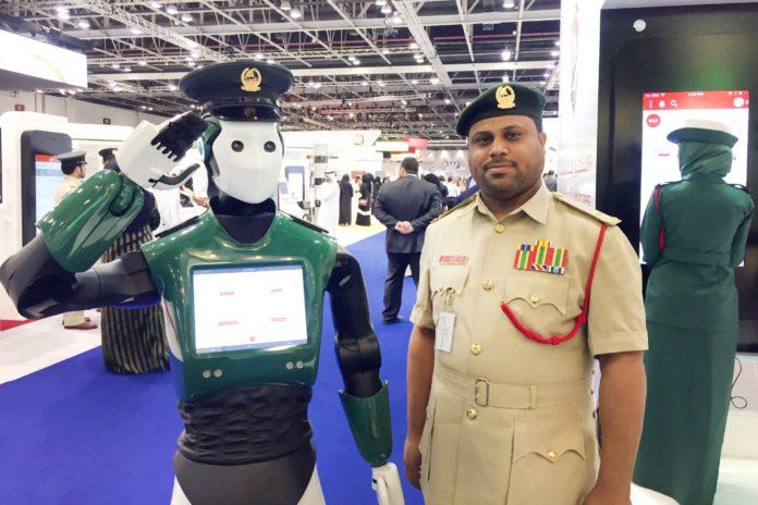 Imagem de: Cidade de Dubai vai ganhar seu primeiro policial robô