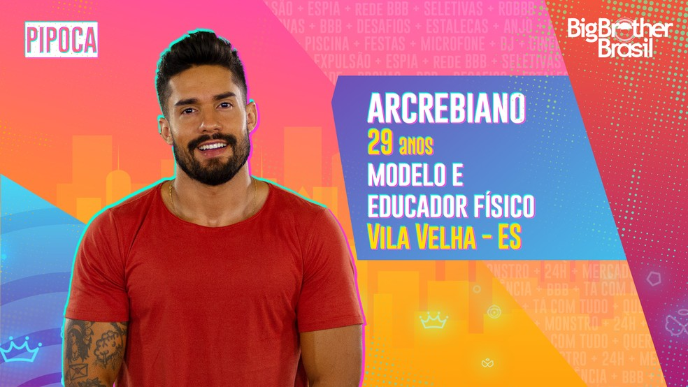 Arcrebiano, BBB21 — Foto- Globo
