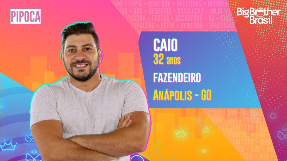 Caio, BBB21 — Foto- Globo