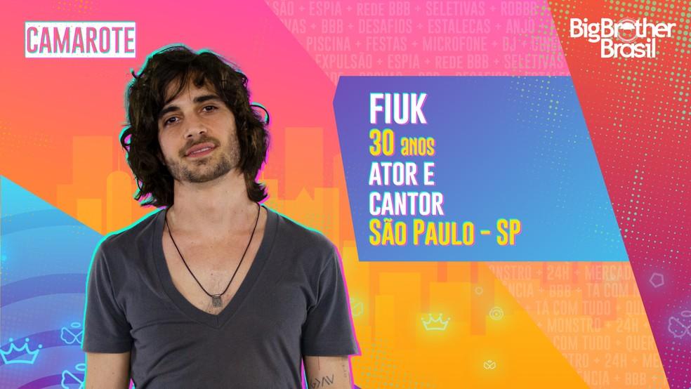 Fiuk, BBB21 — Foto- Globo