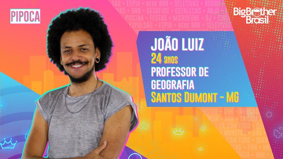 João Luiz, BBB21 — Foto- Globo