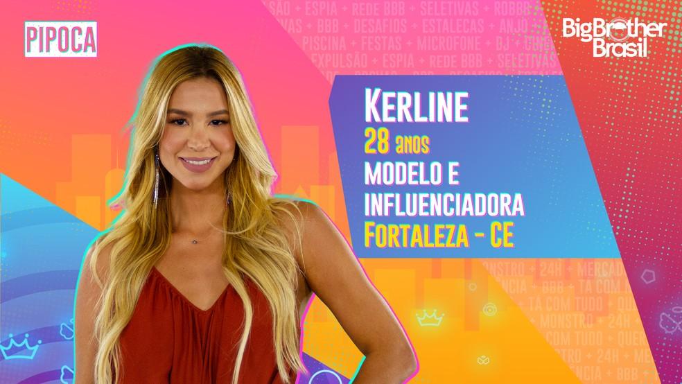 Kerline, BBB21 — Foto- Globo
